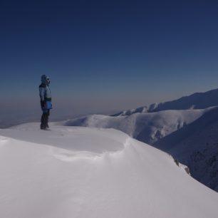 Zimní Fagaraš - Nejvyšší rumunské pohoří, přezdívané též Deštivé hory.