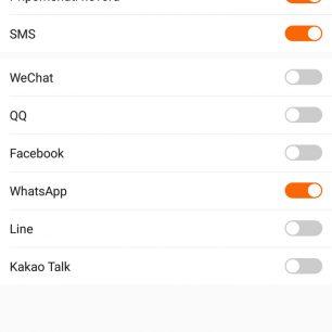 Aplikace - Upozornění