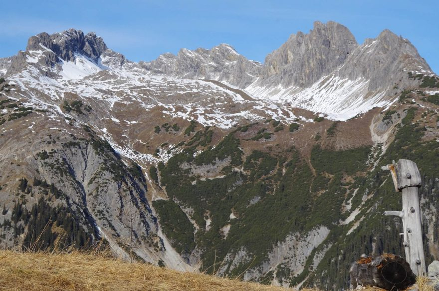 Lechtalské Alpy, Rakousko