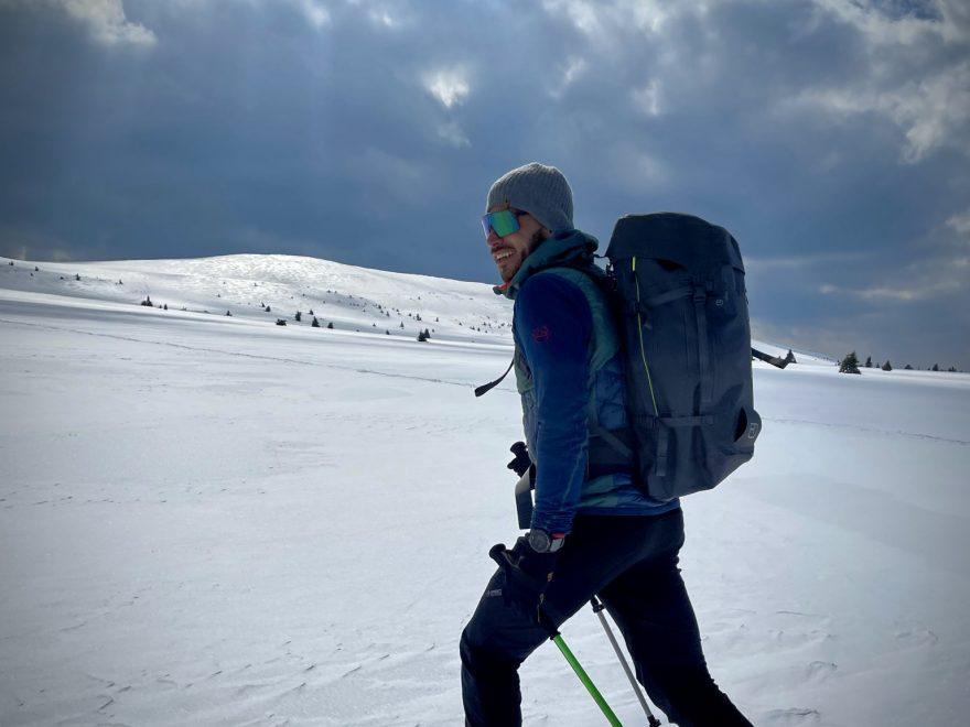 Horský společník ORTOVOX Peak 40 Dry.