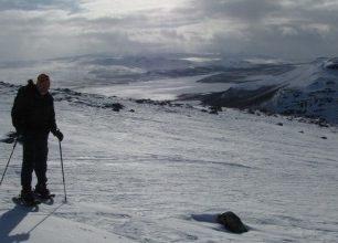 Sněžnicový výstup na posvátnou horu Saana