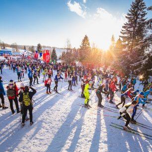 Vyhrajte startovné na libovolný závod seriálu Ski Tour. Ve hře je i legendární Jizerská 50!