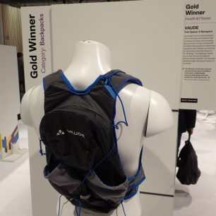 ISPO Award Health and Fitness VAUDE Trail Spacer 8 Backpack.