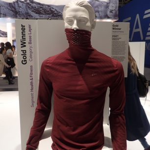 ISPO Award Health and Fitness CRAFT Fuseknit Comfort Turtleneck M.