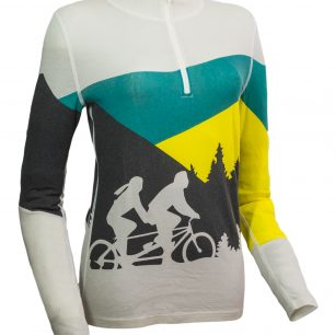 Pullover Debbie lady bike black.
