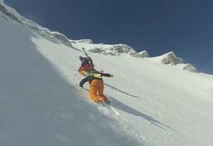 Extrémní lyžovačka ve Slovinsku + VIDEO