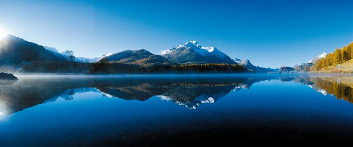 Náhorní jezera Engadinu – řetězec jezer kolem Sv. Mořice