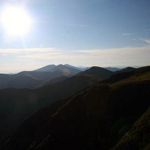 Hreben Nizkych Tatier z Chabenca