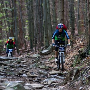 MTB úsek na Wenger Czech Adventure Race