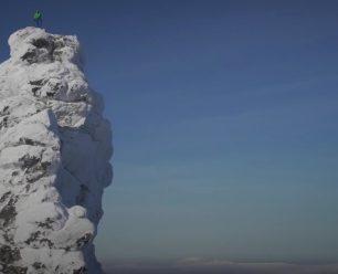 Na vrcholu nejvyššího skalního muže