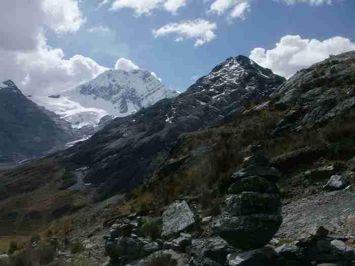 Trek Olleros – Chavín (přechod přes pohoří Cordillera Blanca) 2