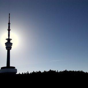 Vysílač na hoře Praděd