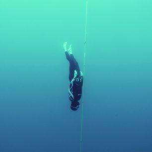 S Michalem Rišianem se natáčelo při freedivingu v Chorvatsku.
